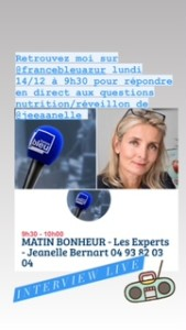 expert_nutrition_interview_live_france_bleu_azur_radio_ysabelle_levasseur