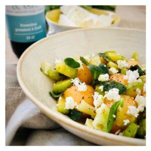 salade_melon_feta_pourpier_huile_chanvre_vigean_ysabelle_levasseur_auteure_culinaire